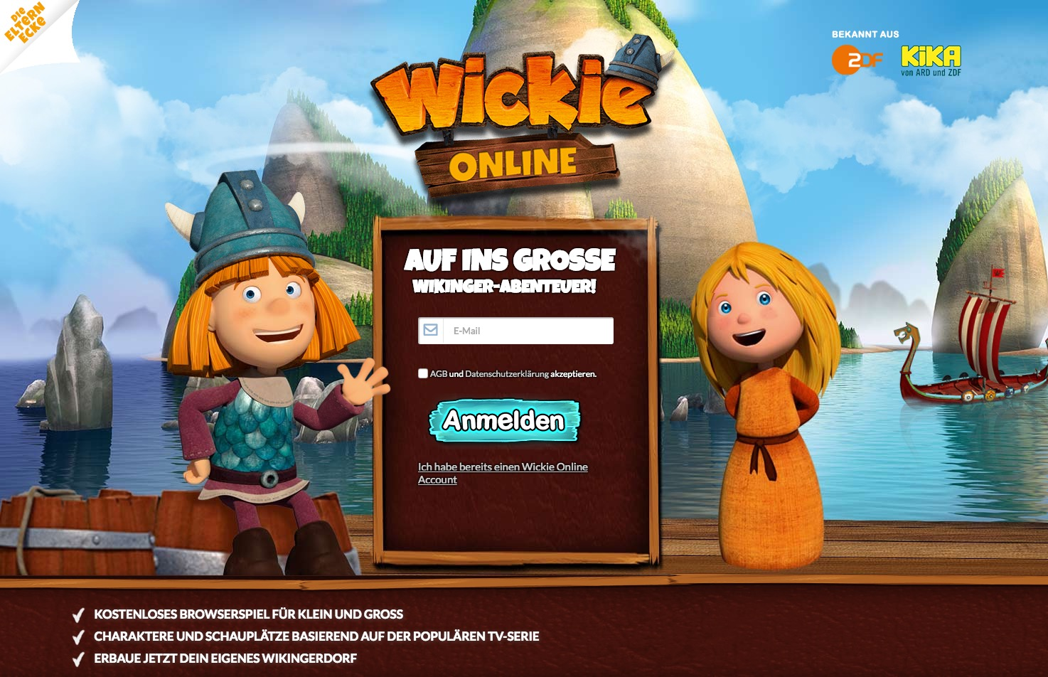Wickie Online Game
