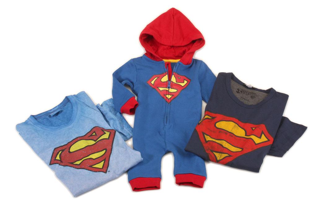Kleidung Superman