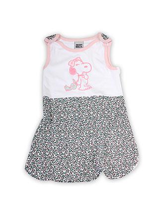 Baby Schlafsack für Mädchen mit Snoopy