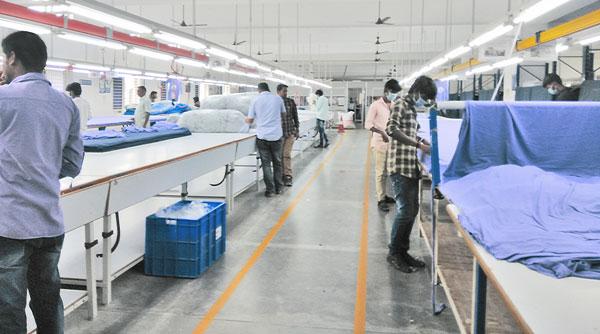 In der Textilproduktion im südindischen Tirrupur.